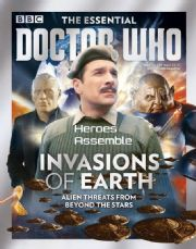 Doctor Who Essential Guide #09 Invasions Of Earth Bookazine Magazine Panini Comics
